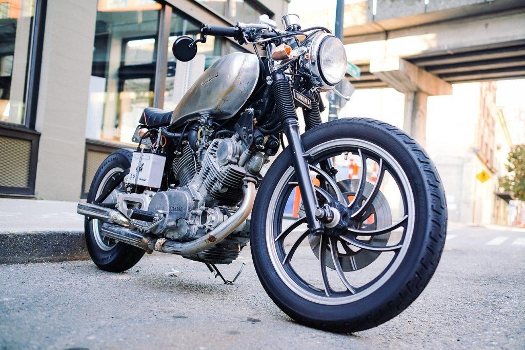 motorcycle, old, vintage