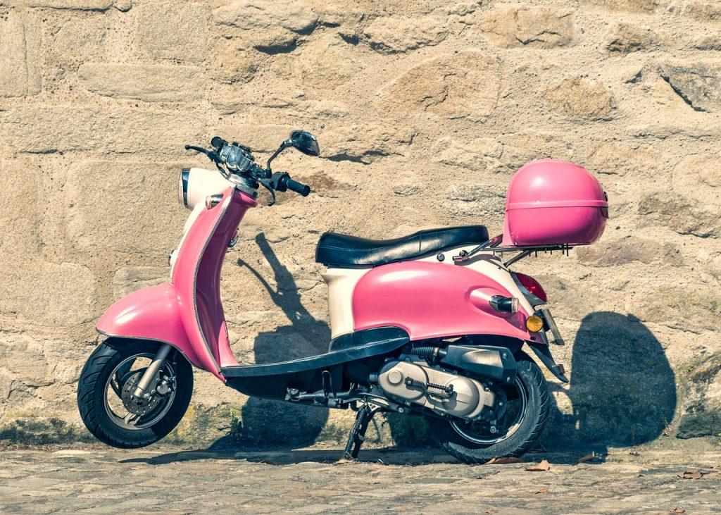 scooter, two-wheels, vespa