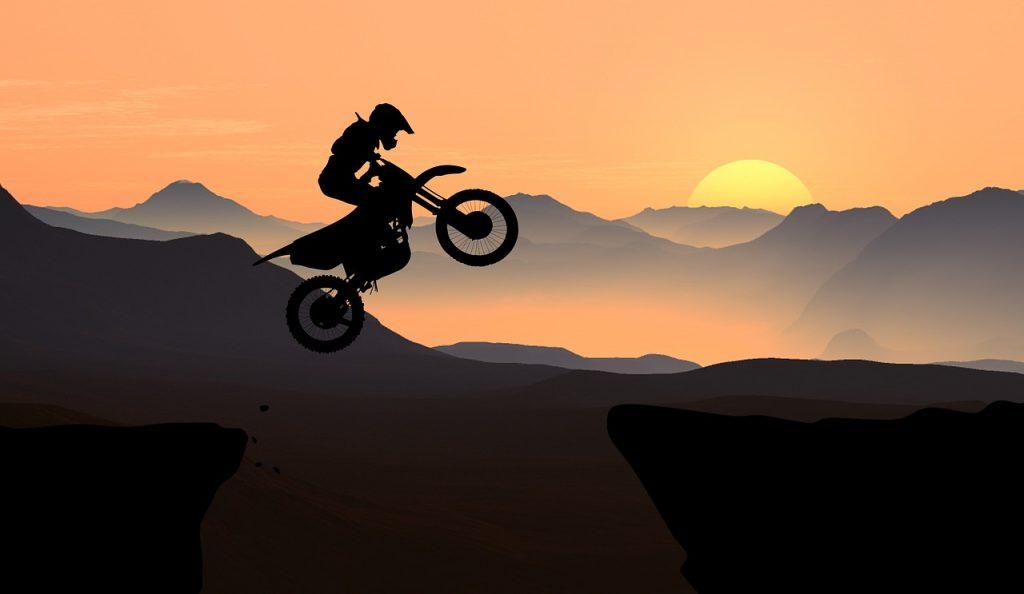motorcycle, mountain, adventure